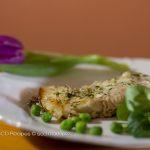 Carp with herbs