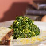 Spinach masálá (curry)