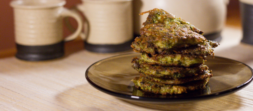 Small vegetable pancakes