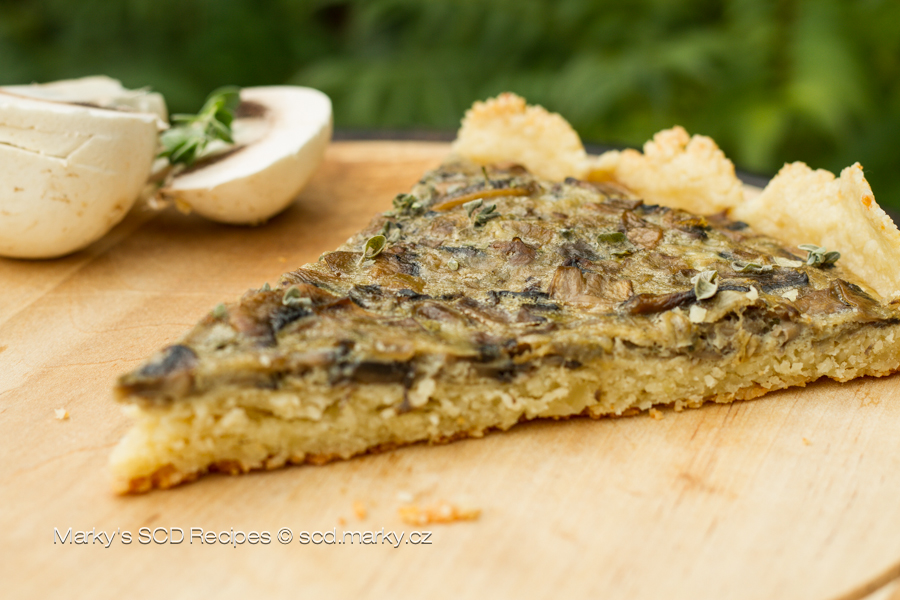 Champignon Pizza - Heal With Meal!